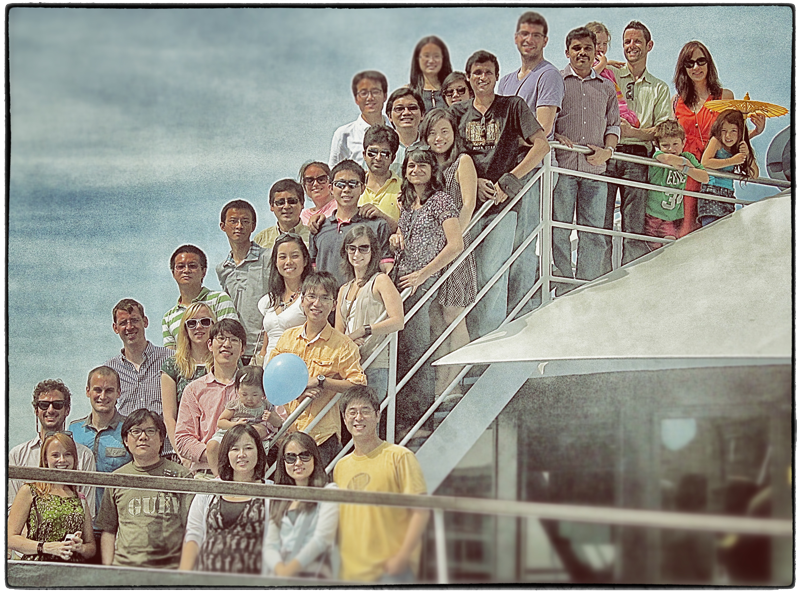 Karp Lab 5th Anniversary Cruise 24 Aug 2012