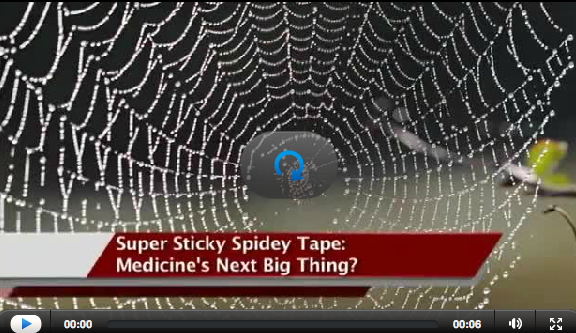 Ivanhoe Medical Breakthroughs - Super Sticky Tape